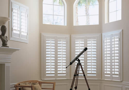 Bay shutters in Aberdeenshire from Sunrite Blinds