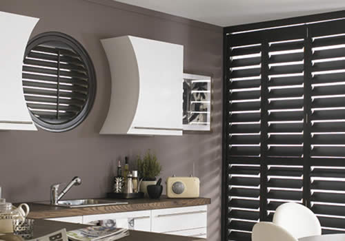 Shaped shutters in Aberdeenshire from Sunrite Blinds