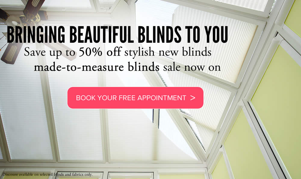 Conservatory blinds In Aberdeenshire made to measure from Sunrite Blinds