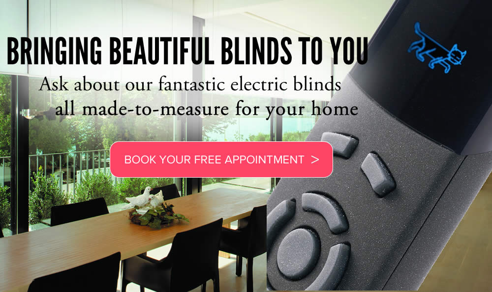 Electric blinds In Aberdeenshire made to measure from Sunrite Blinds