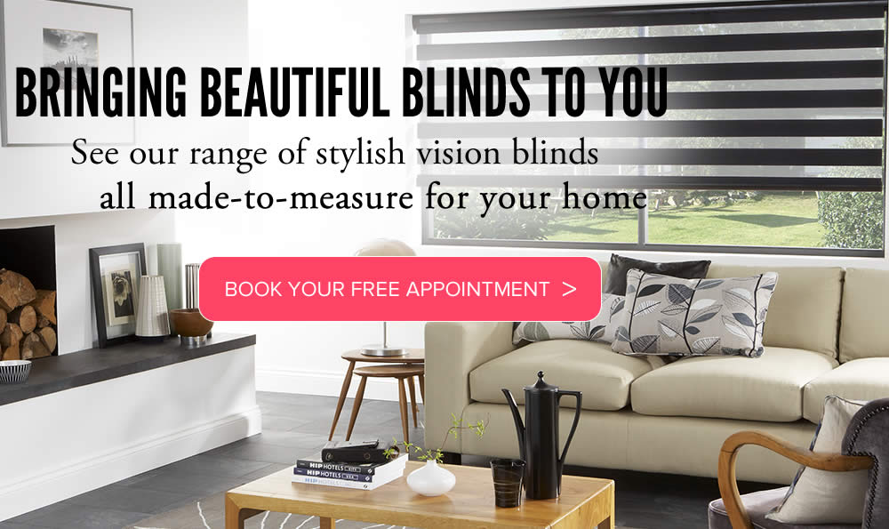 Vision blinds In Aberdeenshire made to measure from Sunrite Blinds
