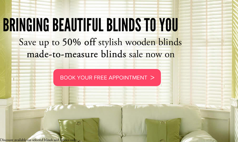 Wooden blinds made to measure from Sunrite Blinds