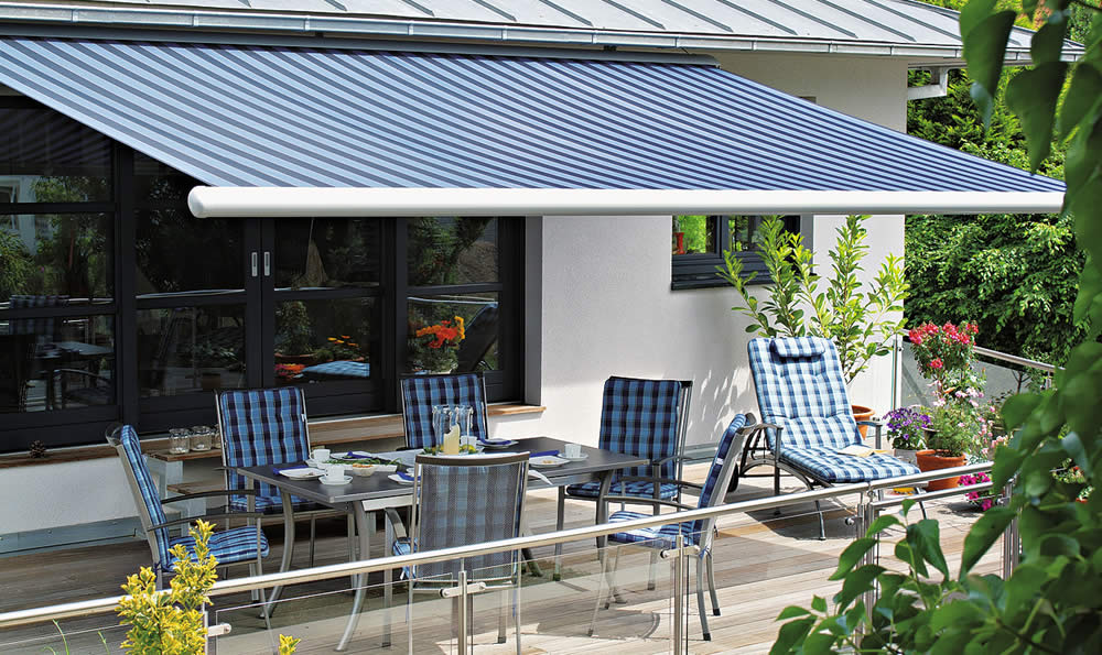 Awnings Markilux 1500 from Sunrite Baileys Blinds