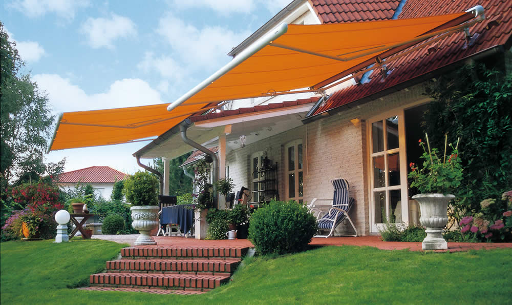 Made to measure awnings - Markilux 1500 available from Sunrite Baileys Blinds