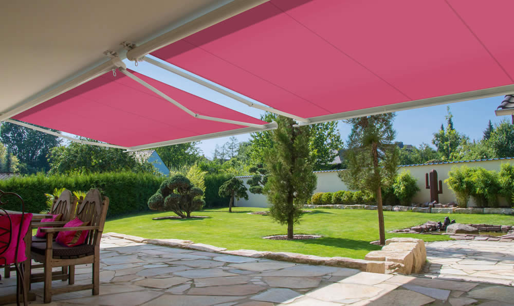 Made to measure awnings - Markilux 990 available from Sunrite Baileys Blinds